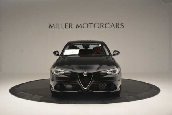 New 2018 Alfa Romeo Giulia Ti Sport Q4 for sale Sold at Bugatti of Greenwich in Greenwich CT 06830 12