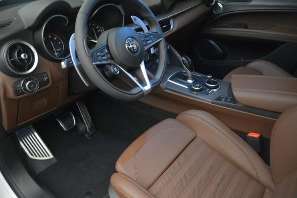 Used 2018 Alfa Romeo Stelvio Ti Sport Q4 for sale Call for price at Bugatti of Greenwich in Greenwich CT 06830 14