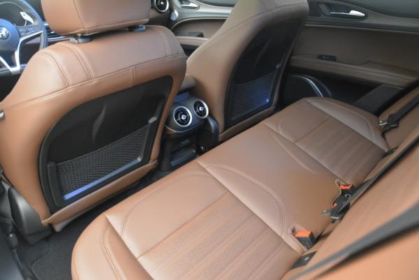 Used 2018 Alfa Romeo Stelvio Ti Sport Q4 for sale Call for price at Bugatti of Greenwich in Greenwich CT 06830 17