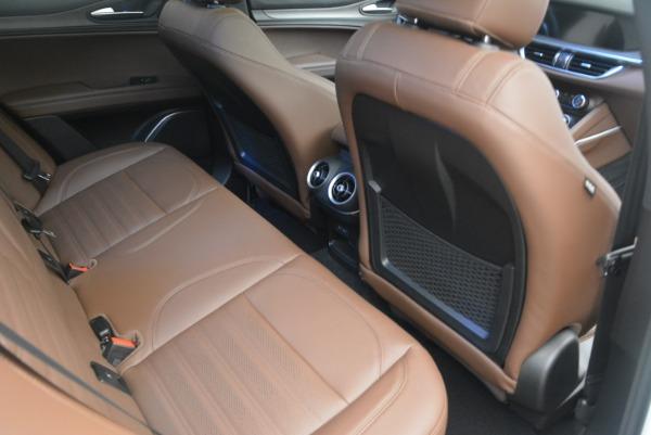 Used 2018 Alfa Romeo Stelvio Ti Sport Q4 for sale Call for price at Bugatti of Greenwich in Greenwich CT 06830 23