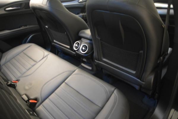 New 2018 Alfa Romeo Stelvio Ti Sport Q4 for sale Sold at Bugatti of Greenwich in Greenwich CT 06830 27