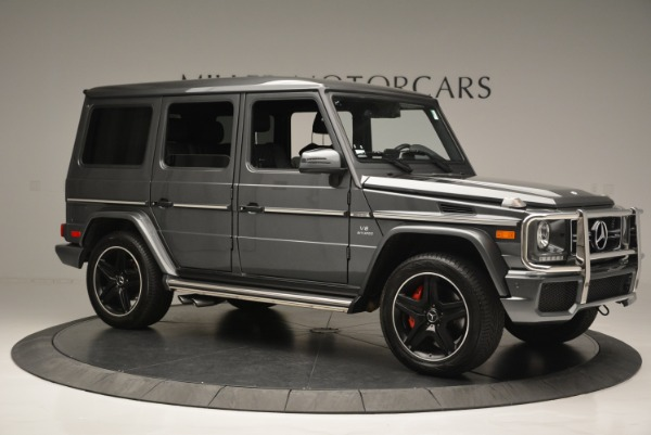 Used 2017 Mercedes-Benz G-Class AMG G 63 for sale Sold at Bugatti of Greenwich in Greenwich CT 06830 10