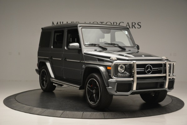 Used 2017 Mercedes-Benz G-Class AMG G 63 for sale Sold at Bugatti of Greenwich in Greenwich CT 06830 11