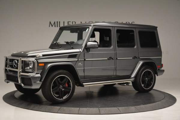 Used 2017 Mercedes-Benz G-Class AMG G 63 for sale Sold at Bugatti of Greenwich in Greenwich CT 06830 2