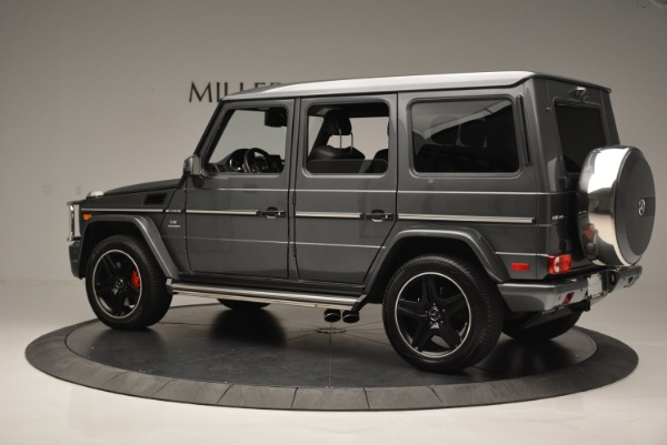 Used 2017 Mercedes-Benz G-Class AMG G 63 for sale Sold at Bugatti of Greenwich in Greenwich CT 06830 4
