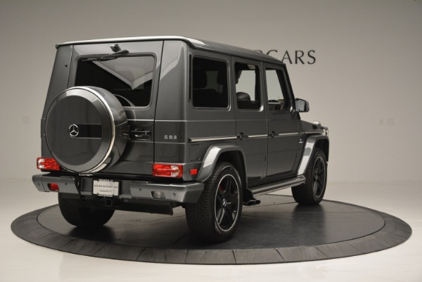 Used 2017 Mercedes-Benz G-Class AMG G 63 for sale Sold at Bugatti of Greenwich in Greenwich CT 06830 7