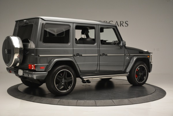 Used 2017 Mercedes-Benz G-Class AMG G 63 for sale Sold at Bugatti of Greenwich in Greenwich CT 06830 8