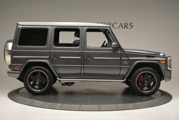 Used 2017 Mercedes-Benz G-Class AMG G 63 for sale Sold at Bugatti of Greenwich in Greenwich CT 06830 9
