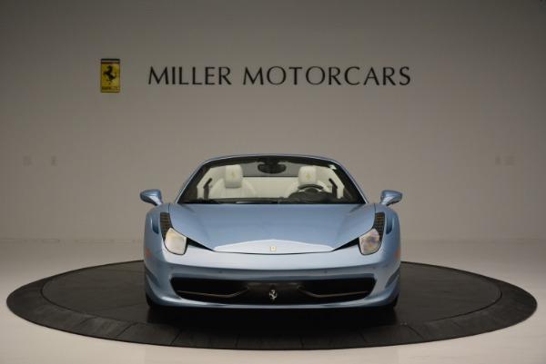 Used 2012 Ferrari 458 Spider for sale Sold at Bugatti of Greenwich in Greenwich CT 06830 12