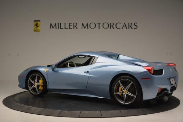 Used 2012 Ferrari 458 Spider for sale Sold at Bugatti of Greenwich in Greenwich CT 06830 16