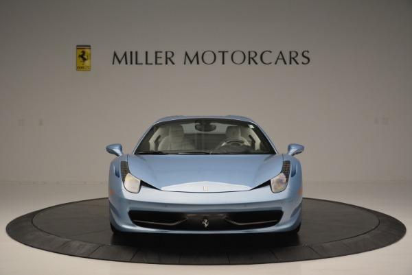 Used 2012 Ferrari 458 Spider for sale Sold at Bugatti of Greenwich in Greenwich CT 06830 24