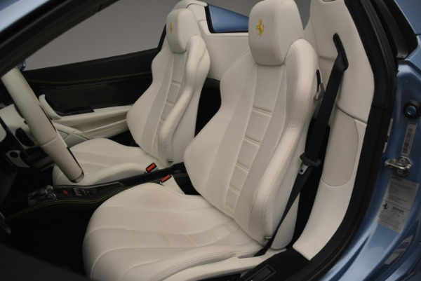 Used 2012 Ferrari 458 Spider for sale Sold at Bugatti of Greenwich in Greenwich CT 06830 27