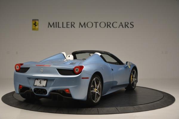 Used 2012 Ferrari 458 Spider for sale Sold at Bugatti of Greenwich in Greenwich CT 06830 7