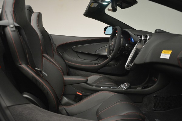 Used 2018 McLaren 570S Spider for sale Sold at Bugatti of Greenwich in Greenwich CT 06830 27