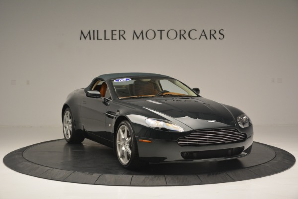 Used 2008 Aston Martin V8 Vantage Roadster for sale Sold at Bugatti of Greenwich in Greenwich CT 06830 14