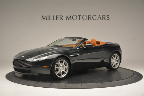 Used 2008 Aston Martin V8 Vantage Roadster for sale Sold at Bugatti of Greenwich in Greenwich CT 06830 2