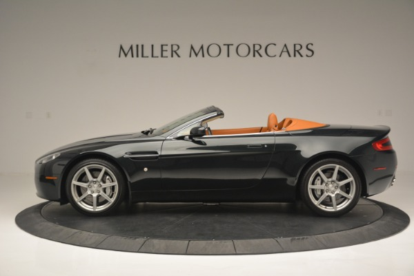 Used 2008 Aston Martin V8 Vantage Roadster for sale Sold at Bugatti of Greenwich in Greenwich CT 06830 3