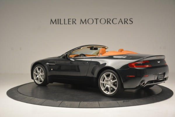 Used 2008 Aston Martin V8 Vantage Roadster for sale Sold at Bugatti of Greenwich in Greenwich CT 06830 4