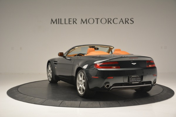 Used 2008 Aston Martin V8 Vantage Roadster for sale Sold at Bugatti of Greenwich in Greenwich CT 06830 5