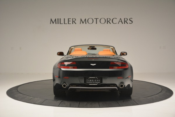 Used 2008 Aston Martin V8 Vantage Roadster for sale Sold at Bugatti of Greenwich in Greenwich CT 06830 6