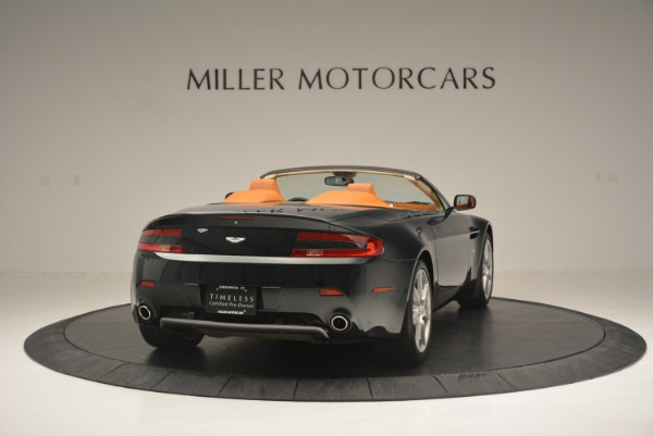 Used 2008 Aston Martin V8 Vantage Roadster for sale Sold at Bugatti of Greenwich in Greenwich CT 06830 7