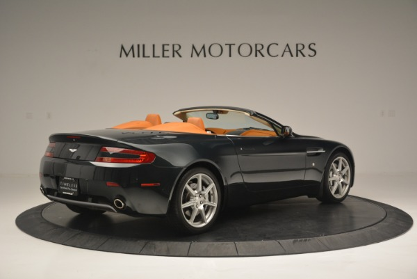 Used 2008 Aston Martin V8 Vantage Roadster for sale Sold at Bugatti of Greenwich in Greenwich CT 06830 8