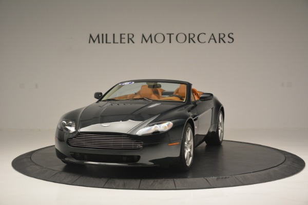 Used 2008 Aston Martin V8 Vantage Roadster for sale Sold at Bugatti of Greenwich in Greenwich CT 06830 1