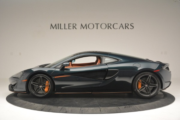 New 2018 McLaren 570GT Coupe for sale Sold at Bugatti of Greenwich in Greenwich CT 06830 3