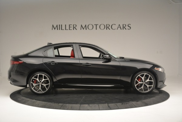New 2018 Alfa Romeo Giulia Ti Sport Q4 for sale Sold at Bugatti of Greenwich in Greenwich CT 06830 9
