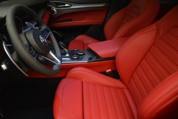 Used 2018 Alfa Romeo Stelvio Ti Sport Q4 for sale $36,900 at Bugatti of Greenwich in Greenwich CT 06830 15