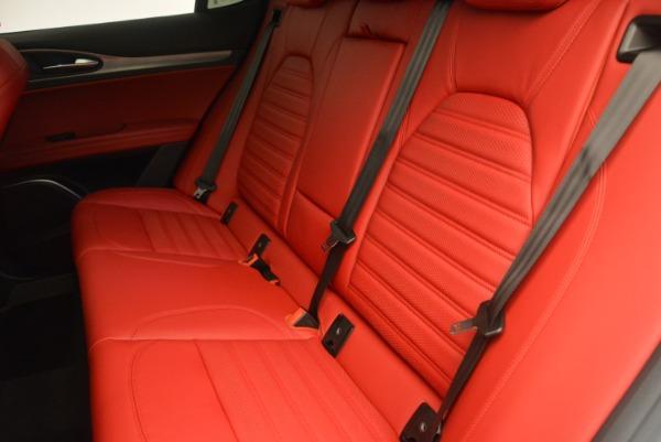 Used 2018 Alfa Romeo Stelvio Ti Sport Q4 for sale Sold at Bugatti of Greenwich in Greenwich CT 06830 17