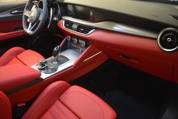 Used 2018 Alfa Romeo Stelvio Ti Sport Q4 for sale $36,900 at Bugatti of Greenwich in Greenwich CT 06830 23