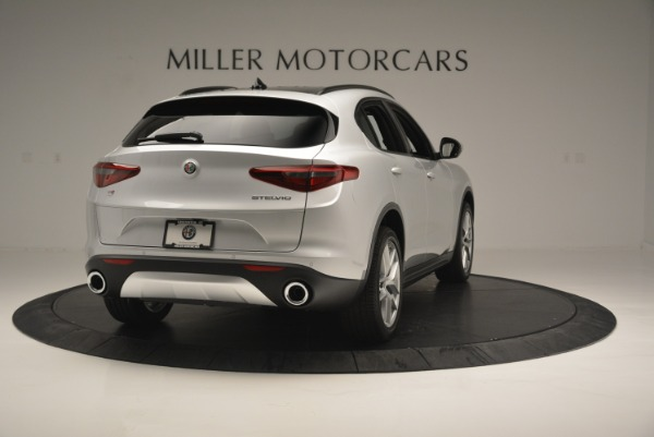 New 2018 Alfa Romeo Stelvio Ti Sport Q4 for sale Sold at Bugatti of Greenwich in Greenwich CT 06830 7