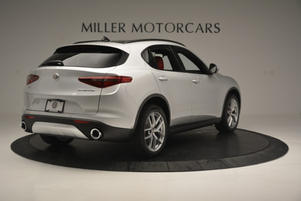 New 2018 Alfa Romeo Stelvio Ti Sport Q4 for sale Sold at Bugatti of Greenwich in Greenwich CT 06830 8