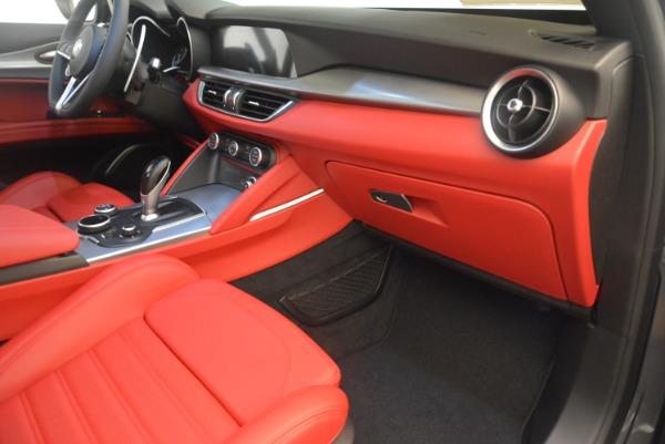 New 2018 Alfa Romeo Stelvio Ti Sport Q4 for sale Sold at Bugatti of Greenwich in Greenwich CT 06830 19