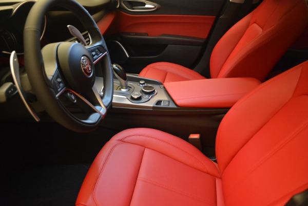 New 2018 Alfa Romeo Giulia Sport Q4 for sale Sold at Bugatti of Greenwich in Greenwich CT 06830 14