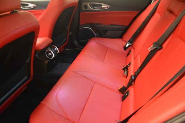 New 2018 Alfa Romeo Giulia Sport Q4 for sale Sold at Bugatti of Greenwich in Greenwich CT 06830 17