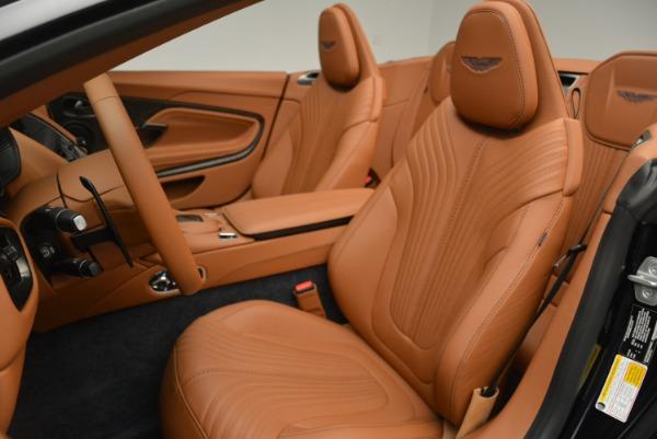 New 2019 Aston Martin DB11 Volante Volante for sale Sold at Bugatti of Greenwich in Greenwich CT 06830 22