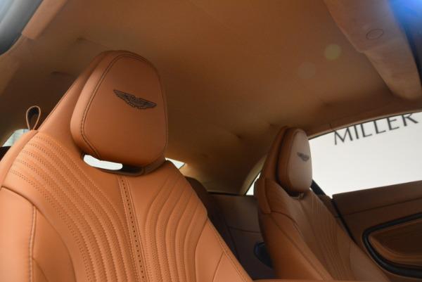 New 2019 Aston Martin DB11 Volante Volante for sale Sold at Bugatti of Greenwich in Greenwich CT 06830 27