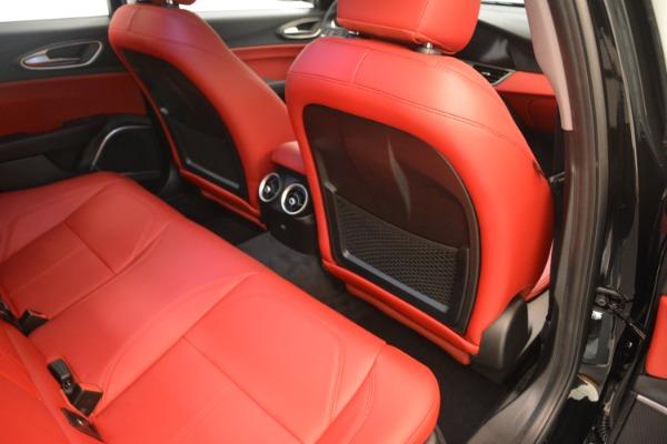 New 2018 Alfa Romeo Giulia Q4 for sale Sold at Bugatti of Greenwich in Greenwich CT 06830 22