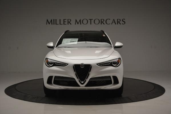 New 2018 Alfa Romeo Stelvio Quadrifoglio Quadrifoglio for sale Sold at Bugatti of Greenwich in Greenwich CT 06830 16