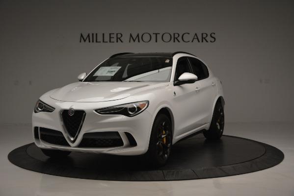 New 2018 Alfa Romeo Stelvio Quadrifoglio Quadrifoglio for sale Sold at Bugatti of Greenwich in Greenwich CT 06830 1