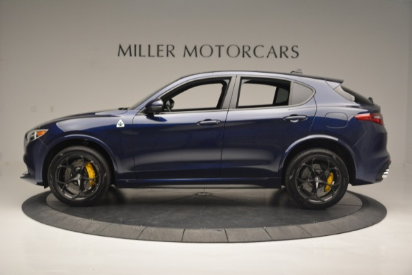 New 2018 Alfa Romeo Stelvio Quadrifoglio for sale Sold at Bugatti of Greenwich in Greenwich CT 06830 3