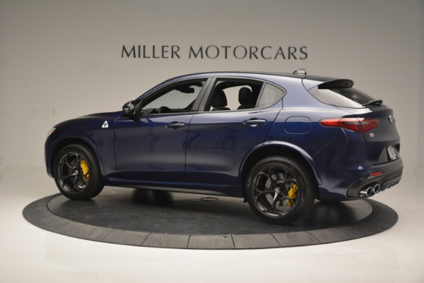 New 2018 Alfa Romeo Stelvio Quadrifoglio for sale Sold at Bugatti of Greenwich in Greenwich CT 06830 4