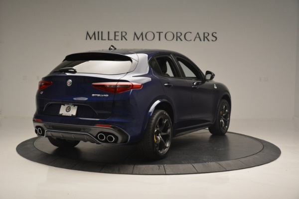 New 2018 Alfa Romeo Stelvio Quadrifoglio for sale Sold at Bugatti of Greenwich in Greenwich CT 06830 7