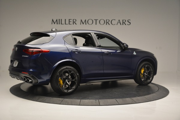 New 2018 Alfa Romeo Stelvio Quadrifoglio for sale Sold at Bugatti of Greenwich in Greenwich CT 06830 8