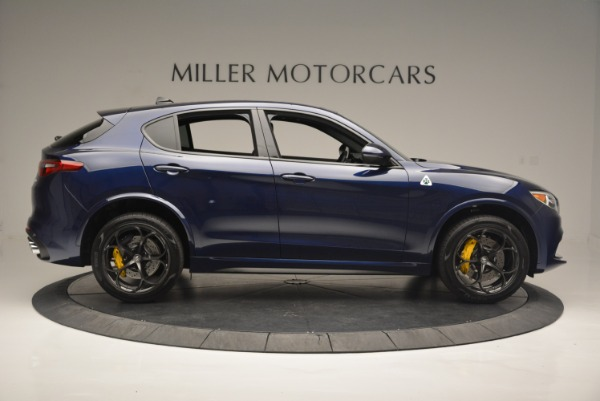 New 2018 Alfa Romeo Stelvio Quadrifoglio for sale Sold at Bugatti of Greenwich in Greenwich CT 06830 9