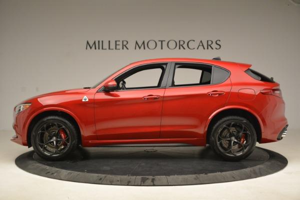 New 2018 Alfa Romeo Stelvio Quadrifoglio for sale Sold at Bugatti of Greenwich in Greenwich CT 06830 3