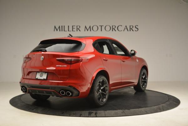 New 2018 Alfa Romeo Stelvio Quadrifoglio for sale Sold at Bugatti of Greenwich in Greenwich CT 06830 7