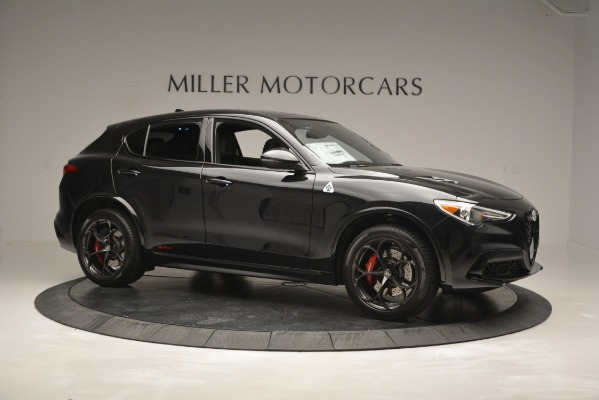 New 2018 Alfa Romeo Stelvio Quadrifoglio for sale Sold at Bugatti of Greenwich in Greenwich CT 06830 10